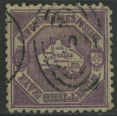 New South Wales   1888-89   Scott # 85  USED