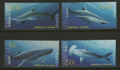 Norfolk Island   2004   Scott # 809-812    Mint Never Hinged Set