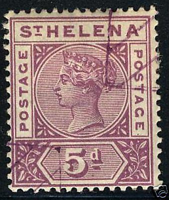 St Helena  1896  Scott # 45  USED
