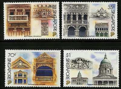 Singapore   1996   Scott # 743-746   MNH Set