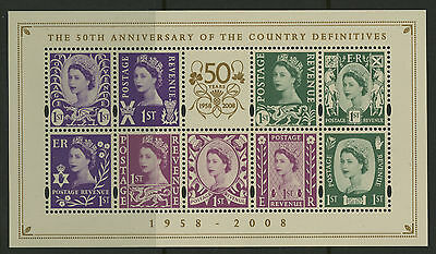 Great Britain   2008   Scott #2600   Mint Never Hinged Souvenir Sheet