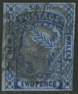 New South Wales   1853   Scott # 15  USED