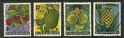 Singapore   1973  Scott # 198-201  USED Part Set