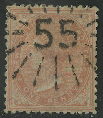New South Wales   1863-64   Scott # 47  USED