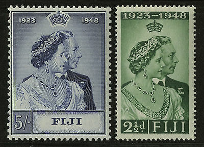 Fiji   1948   Scott # 139-140   Mint Lightly Hinged Set