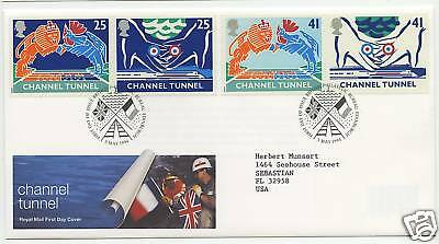 Great Britain  1994  Scott # 1558-1561  First Day Cover