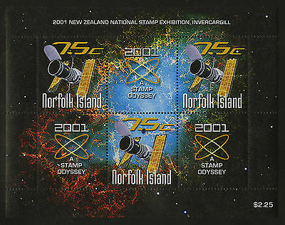 Norfolk Island   2001   Scott # 731    Mint Never Hinged Souvenir Sheet