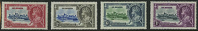 St Helena  1935  Scott # 111-114    Mint Lightly Hinged Set