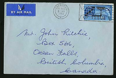 Great Britain 1963  Scott #401  FDC
