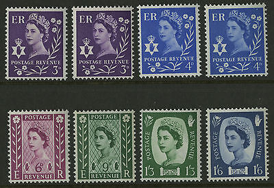 Northern Ireland   1958-67   Scott #  1-6    Mint Never Hinged Set