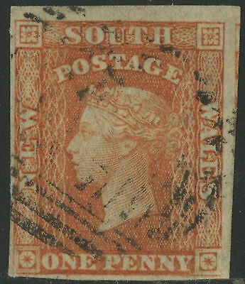 New South Wales   1856   Scott # 32a  USED