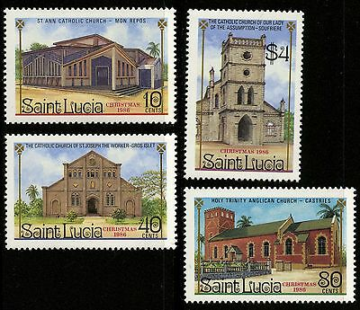 St Lucia   1986   Scott # 867-870   Mint Never Hinged Set