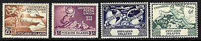Pitcairn Islands  1949   Scott # 13-16  MLH Set