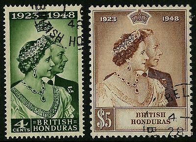 British Honduras   1948   Scott #129-130    Used Set