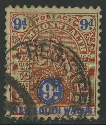 New South Wales   1905-06   Scott # 119   Mint Lightly Hinged