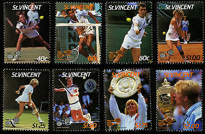St Vincent   1987   Scott #988-995   Mint Never Hinged Set