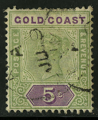 Gold Coast   1898-1902   Scott #34   USED