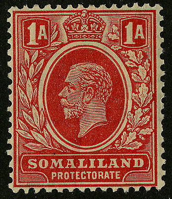 Somaliland Protectorate   1921   Scott # 65   Mint Lightly Hinged