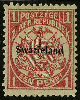 Swaziland   1889   Scott # 2   Mint Lightly Hinged