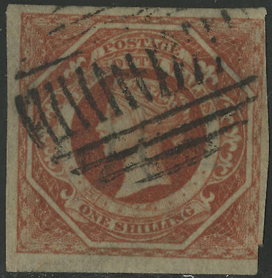 New South Wales   1854-55   Scott # 31  USED