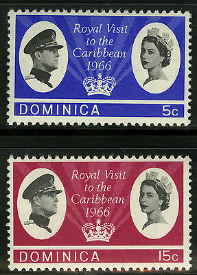 Dominica  1966   Scott # 193-194  MNH Set