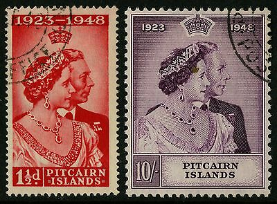 Pitcairn Islands   1948   Scott # 11-12    Used Set