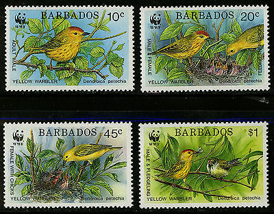 Barbados   1991   Scott #795-798    Mint Never Hinged Set
