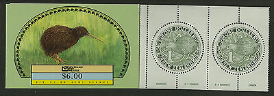 New Zealand   1988   Scott # 918a   Mint Never Hinged Booklet