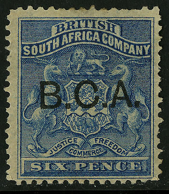 British Central Africa   1891-95   Scott #6   Mint No Gum
