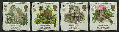 Great Britain   1986   Scott #1141-1144    Mint Never Hinged Set