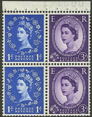 Great Britain  1965   Scott # 354fp  MNH Booklet Pane