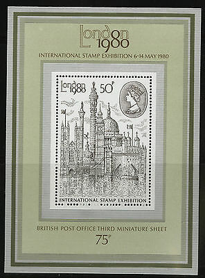 Great Britain   1980   Scott # 909a    Mint Never Hinged Souvenir Sheet