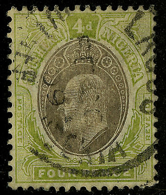 Southern Nigeria  1904-07   Scott #25    USED