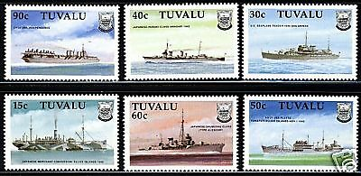 Tuvalu  1990  Scott # 543-548  MNH  Set