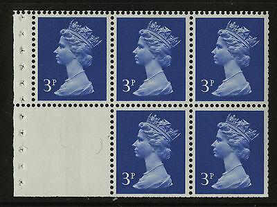 Great Britain   1971   Scott #MH 36b    Mint Never Hinged Booklet Pane - Blank