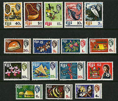 Fiji   1967   Scott # 260-276   Mint Lightly Hinged Set