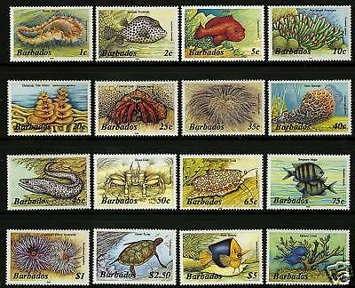 Barbados 1985  Scott # 640-659  MNH Set