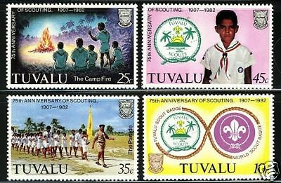 Tuvalu  1982  Scott # 176-179  MNH  Set