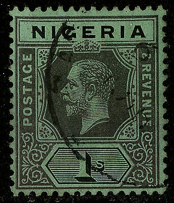 Nigeria  1914-27   Scott #8     USED
