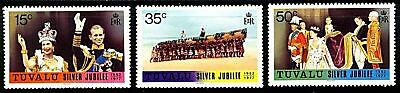 Tuvalu  1977  Scott # 43-45  MNH  Set