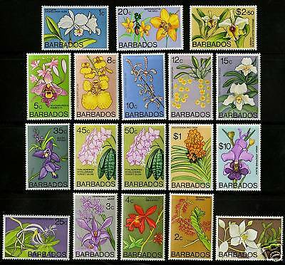 Barbados 1974-77  Scott # 396-411  MNH Set