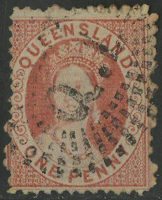Queensland   1876-78   Scott # 39   USED