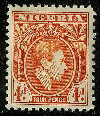 Nigeria  1938-51   Scott #59    Mint Hinged