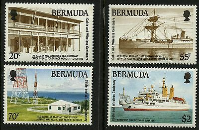 Bermuda  1990   Scott #601-604   Mint Never Hinged Set