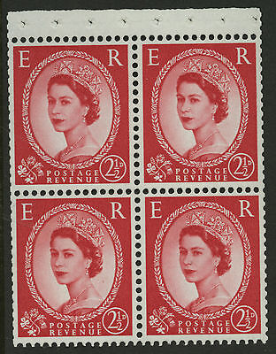 Great Britain   1958-65   Scott # 357g    Mint Never Hinged Booklet Pane