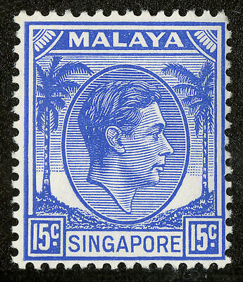 Singapore   1948  Scott # 11  Mint Lightly Hinged