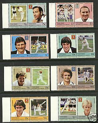 St Vincent Union Isl.  1984  Scott #126-133  MNH Set