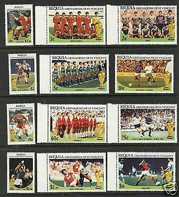 St Vincent Grenadines 1988  Scott #218-229  MNH Set