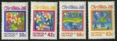 Norfolk Island  1988   Scott # 440-443  MNH Set