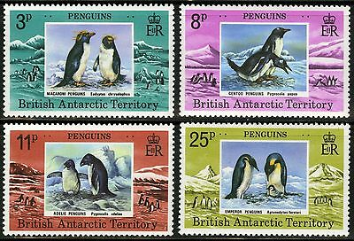 British Antarctic Territory   1979   Scott # 72-75   MNH Set